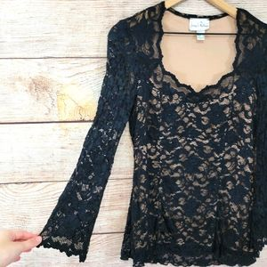 Joseph Ribkoff lace blouse